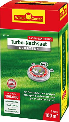 WOLF-Garten Turbo-Nachsaat Schatten L-RS 100, rot