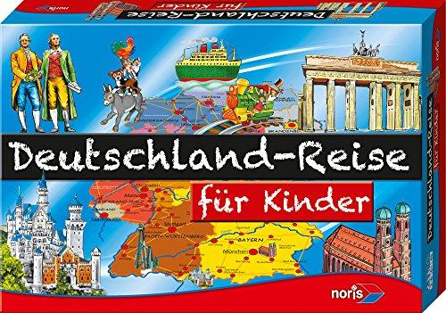 Noris Spiele 606013760 - Deutschland Reise f�r Kinder, Kinderspiel