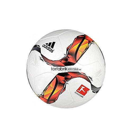 adidas Herren Fu�ball Torfabrik Junior 350, white/solar red/black/solar orange, 5, S90209