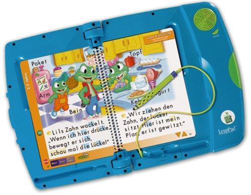 LeapFrog 41130004 - LeapPad-Lernsystem, blau