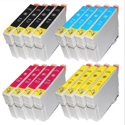 win-tinten 16 T1281-T1284 Kompatible Druckerpatrone als Ersatz f�r Epson SX 445 W S 22 SX 125 SX 130 SX 420W SX 425W SX 430W SX 435W SX 440W Drucker