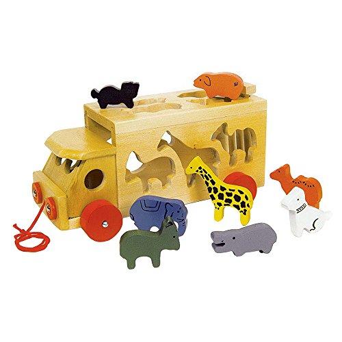 Legler 7223 - Zoowagen mit Tieren