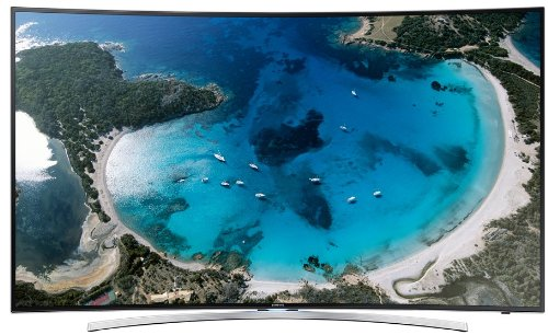 Samsung UE55H8090 138cm (55 Zoll) 3D-LED-Backlight-Fernseher (Curved-TV, Full HD, 1000Hz CMR, WLAN, Smart-TV, 2x DVB-T/-C/S2, Quad Core+, Micro Dimming)