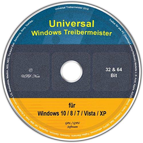 Universal Treiber-Meister f�r Windows 8 / 7 / Vista / XP (32 & 64 Bit)