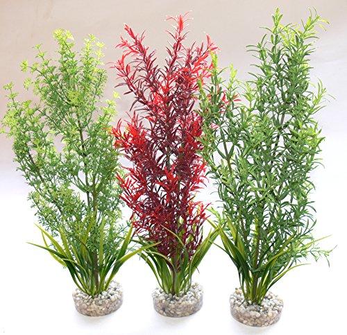 Sydeco Plastik Pflanzen Deko f�r Aquarien/Terrarien Aquaplant -XL- 30cm
