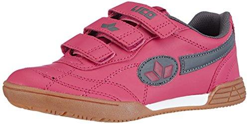 Lico Bernie V, M�dchen Hallenschuhe, Pink (pink/grau), 31 EU