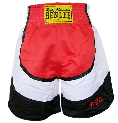 BENLEE Rocky Marciano Box Shorts Dempsey, Rot/Schwarz/Wei�, L, 199130-1502