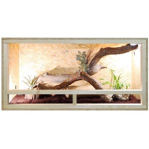 Terrarium 120x60x60 Seite Holzterrarium Holz Terrarium