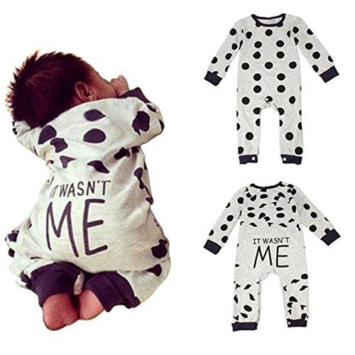 puseky Baby Jungen M�dchen (0-24 Monate) Romper Bekleidung 0~6 Months