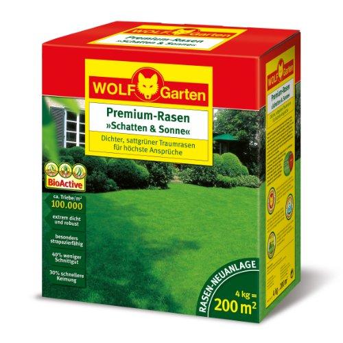WOLF-Garten Premium-Rasen �Schatten & Sonne�LP 200; 3820050