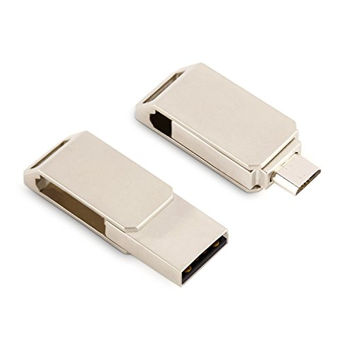 Jelly Comb Handy USB-Stick 16GB OTG Speicherstick Memory Stick mit Duale Steckern - USB2.0 f�r PC / Mac und Micro-USB f�r Tablets und Smartphones