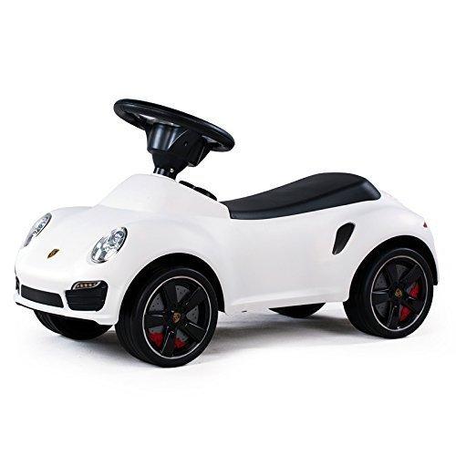 Kinderfahrzeug Baby Car Porsche 911 wei�, Auto Rutscherfahrzeug Rutscherauto Rutscher