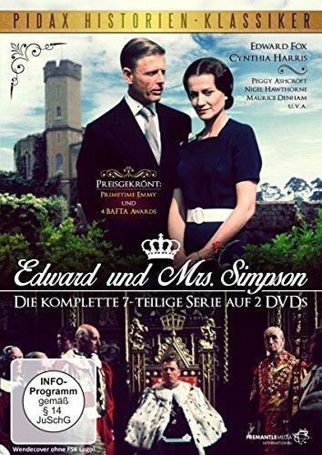 Edward und Mrs. Simpson / Der preisgekr�nte 7-Teiler �ber den englischen Kronprinzen und sp�teren K�nig Edward VII. (Pidax Historien-Klassiker) [2 DVDs]