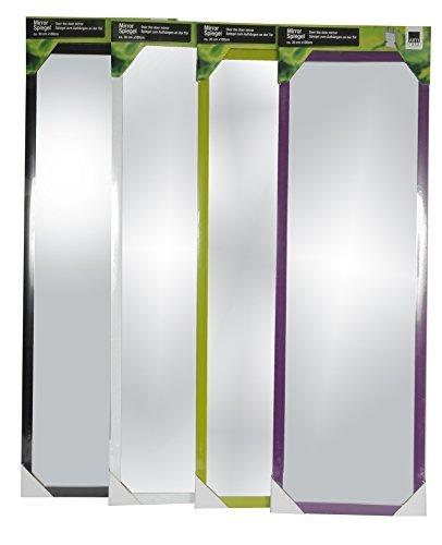 Wand- und T�r Spiegel Wandspiegel T�rspiegel H�ngespiegel Rahmenspiegel Garderobenspiegel (Schwarz)