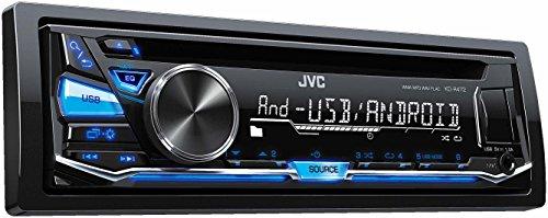 JVC KD-R472 Autoradio USB/CD-Receiver mit Front-AUX-Eingang schwarz