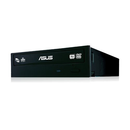 "Asus DRW-24F1ST DVD-Brenner 24x (DVD�RW, 8x DVD+R, 8x DVD+R DL, SATA) schwarz, ""Bulk version"""