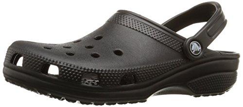 Crocs Unisex-Erwachsene Classic Clogs, Schwarz (Black 001), 45-46 EU (11M)