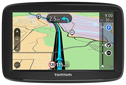 TomTom Start 52 Europe Traffic Navigationsger�t (13 cm (5 Zoll), Lifetime Maps, Fahrspurassistent, 3 Monate Radarkameras, Karten von 48 L�ndern Europas)