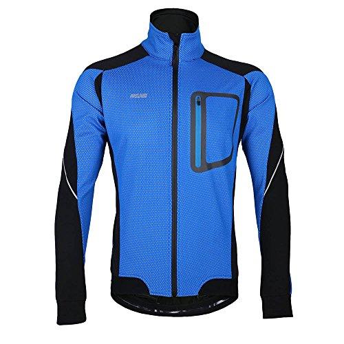 Arsuxeo MTB Mountainbike Jacket Winter Warm Hei� Radfahren Lang �rmel Jacket Fahrrad Kleidung Winddicht Jersey