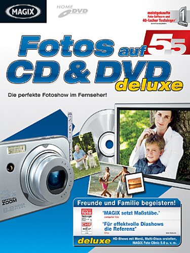 MAGIX Fotos auf CD & DVD 5.5 deLuxe