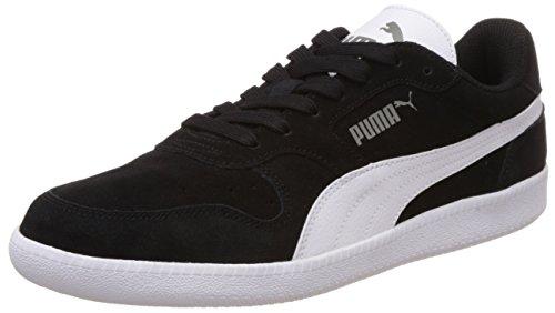 Puma Icra Trainer SD, Unisex-Erwachsene Sneakers, Schwarz (black-white 16), 45 EU (10.5 Erwachsene UK)