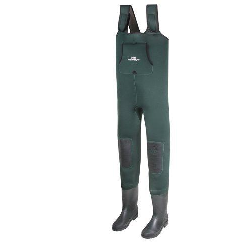 Behr Neopren High Back Wathose inkl. Socken mit Tasche alle Gr��en (42 / 43)