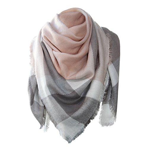 b301b43ee978 Glamexx24 XXL Schal Kuschelige, warme und wunderschöne Damen Poncho Schal  mit verschiedenen Muster Schal Poncho