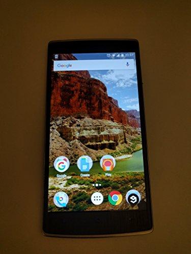 OnePlus ONE Smartphone 4G LTE 3GB RAM 2,5 GHz Snapdragon 801 5,5 Zoll Gorilla Glass FHD 64GB ROM, Schwarz