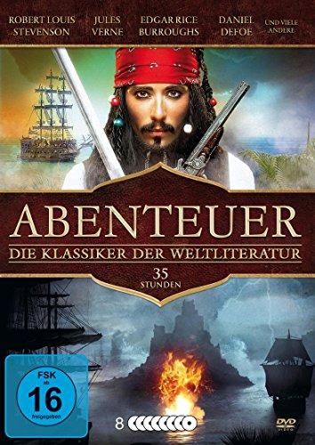 Abenteuerfilme - Die Klassiker der Weltliteratur (8 DVD-Box mit 32 Filmen)