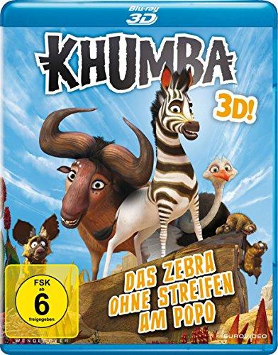 Khumba - Das Zebra ohne Streifen am Popo [3D Blu-ray]