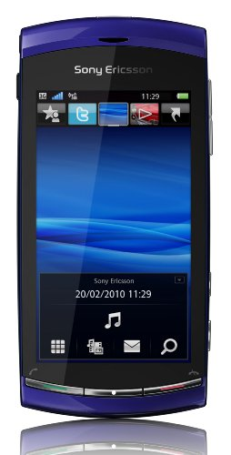 Sony Ericsson Vivaz Smartphone (UMTS, WLAN, 8.1 MP, HD-Video 720p) Galaxy Blue, Smartphone T-Mobile Branding