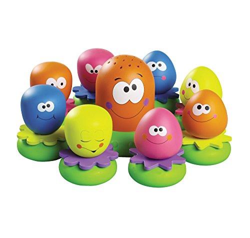 """Tomy Wasserspiel f�r Kinder """"Okto Plantschis"""" mehrfarbig - hochwertiges Kleinkindspielzeug - Spielzeug f�r die Badewanne - ab 12 Monate"""