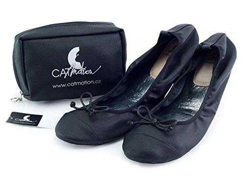 Faltbare Schuhe Elegance CatMotion (40/41, Schwarz)