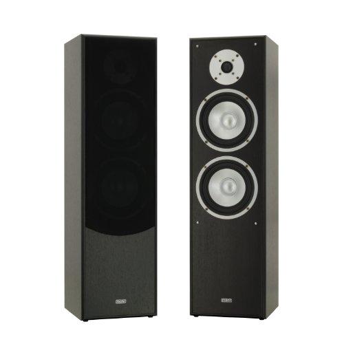 1 Paar Standlautsprecher Mohr SL10 schwarz, Lautsprecherboxen, HiFi Klang zum g�nstigen Preis