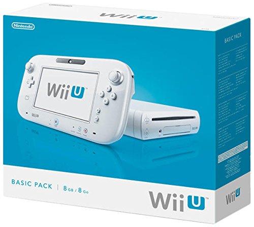 Nintendo Wii U - Konsole, Basic Pack, 8 GB, wei�
