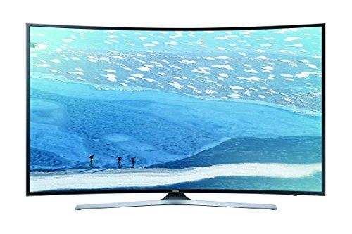 Samsung UE55KU6179UXZG 139,7 cm (55 Zoll) Curved Fernseher (Ultra HD, Triple Tuner, Smart TV) schwarz