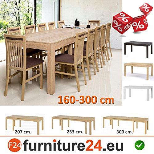 Tisch K�chentisch Esszimmertisch Esstisch WENUS ausziehbar 300 cm !!! Sonoma Eiche