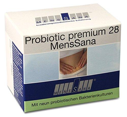 Probiotic 28 MensSana | nat�rliche Vitalstoffe und probiotische Bakterien f�r eine stabile Darmflora und gute Abwehrkr�fte | Vitamine + Mikron�hrstoffe mit hoher Bioverf�gbarkeit | wasserl�sliches Pulver