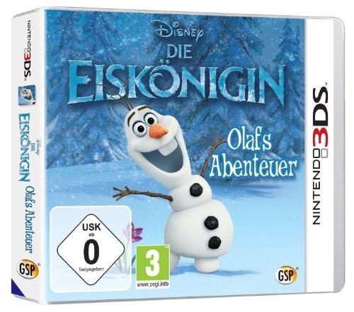 Disney Die Eisk�nigin: Olafs Abenteuer - [Nintendo 3DS]