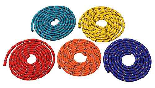 Sparset - F�nf farbige Springseile - 3 Meter L�nge