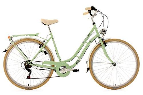 KS Cycling Damen Fahrrad Cityrad Casino 6 G�nge, Gr�n, 28 Zoll, 700C