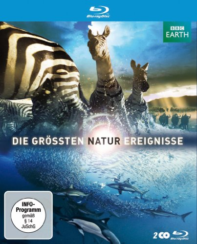 Die gr��ten Naturereignisse [Blu-ray]