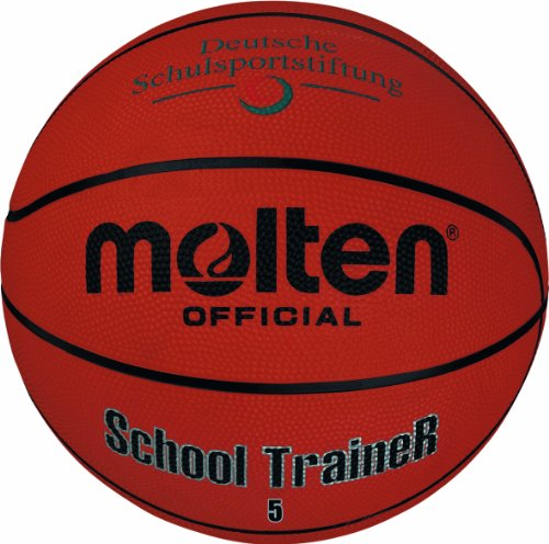 Molten Basketball B5ST, ORANGE, 5