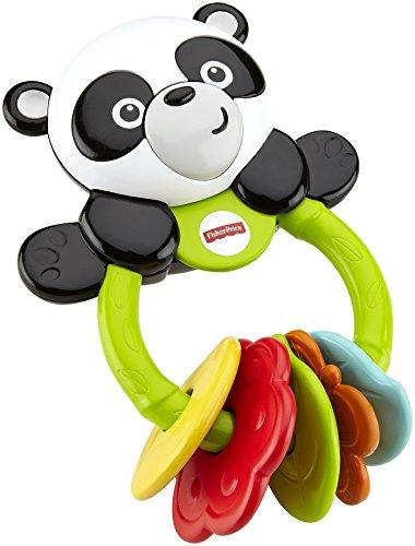 Mattel Fisher-Price CGR96 - Babyspielzeug - Klickklack-Panda