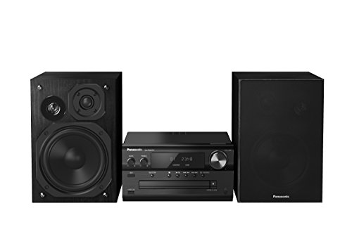 Panasonic SC-PMX74EG-K High Resolution HiFi System (CD Spieler, Radio UKW/DAB+, Bluetooth, NFC, USB, 120 Watt RMS) schwarz