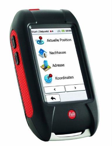 Falk Outdoor-GPS LUX 22, 3 Zoll Touchscreen, Basiskarte Plus (EU 25) zum Radfahren, Mountainbiken, Wandern und Geocaching