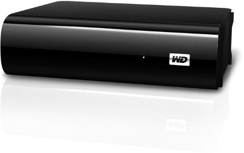 """Western Digital 2TB My Book AV TV Externe Festplatte Desktop 3,5"""" USB3.0 und 2.0 f�r TV Aufnahmen, reibungslose AV-Wiedergabe, USB-Kabel - 2 m, Flexibles Design f�r liegende oder stehende Aufstellung"""