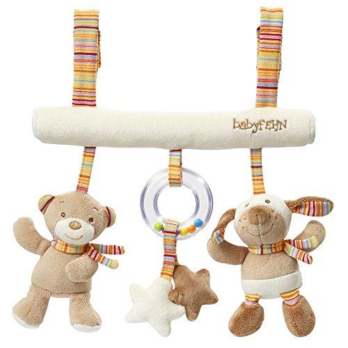 Fehn 160987 Babyspielzeug Activity - Trapez Rainbow