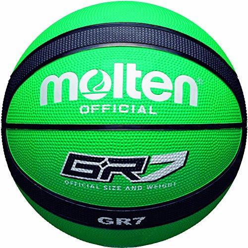 Molten BGR7-GK - Basketball, gr�n / schwarz, Gr��e 7