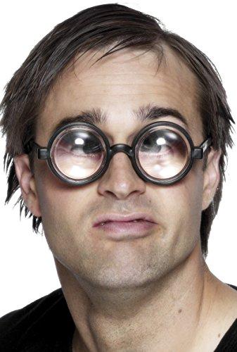 Vergr��ere Deine Augen Brille Schwarz, One Size